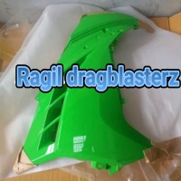 fairing ninja 250fi hijau kanan original Kawasaki ori tan