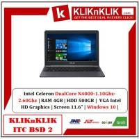 ASUS E203MAH-FD411T Star Grey - DC N4000 4GB RAM 500GB HDD Win10