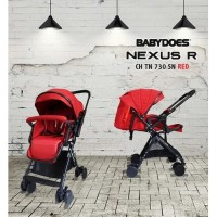 Stroller BabyDoes Nexus R Stroler bayi Kereta Dorong Bayi Reversible