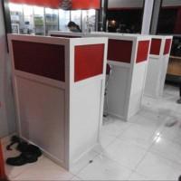 Paling Terlaku Meja Sekat Kantor Cubicle Table Workstation Semarang