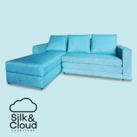 Silk&Cloud Onyx L seat sofa Bed - Marrine