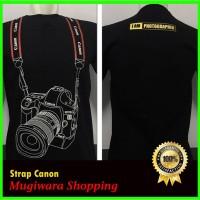 Kaos Baju Distro Murah Natgeo Photographer fotographer STRAP CANON 3D