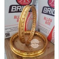 Velg TK Super Bright Set Ring 14 x 140 160 Warna Gold