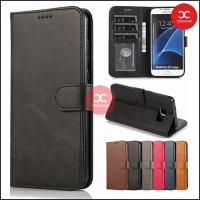Flip Case S6 Wallet Leather Cover Samsung Galaxy S6 Edge Case Dompet