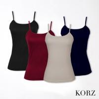 KORZ Kaos Tanktop Pakaian dalam Wanita | S,M,L Premium Quality