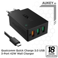 Aukey PA-T14 Wall Charger with Quick Charge 3.0