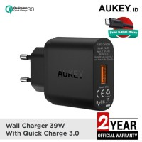 Aukey Charger 1 Port 18W QC 3.0 - PA - T9 / 50001