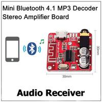 MP3 Mini Bluetooth 4.1 BLE Decoder Board Audio Stereo Receiver BT