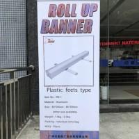 Cetak Roll up Banner ukuran 85x200 cm