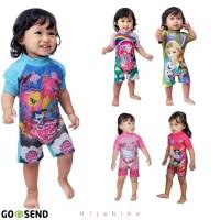 Baju renang bayi size 6 bulan - 18 bulan karakter