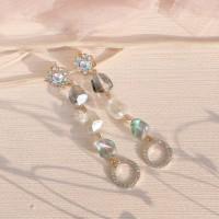 MEADOW premium korean fashion drop earrings jewelry anting mewah