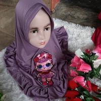 jilbab anak Led