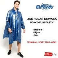 JAS HUJAN Ponco Kalong Lengan FUNTASTIC Elmondo 703 Promo TERMURAH