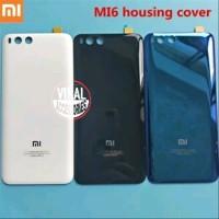 Backdoor Back Cover Glass Xiaomi Mi6 Mi 6 Mi-6 Case Tutup Baterai HP X