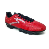 Sepatu Bola SPECS QUARK FG Chestnut Red / Black / Silver 100% ORIGINAL