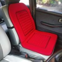 Sandaran pijat Jok kursi Mobil Daihatsu Ayla Merah