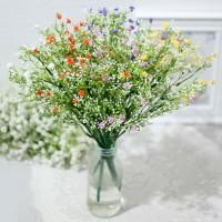 1 SET ISI 5 bunga plastik hias tanaman artificial baby breath A1