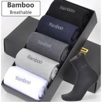 KK25 Kaos Kaki Pria Kerja High Quality Super Bambu Bamboo Sock