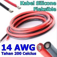 Kabel Silicon AWG 14 Super Flexible tahan 200 drajat celcius