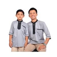 Baju Koko Couple Ayah dan Anak