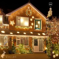 Lampu Natal Hias 10 METER Tumblr LED Dekorasi WARMWHITE 100LED + Box