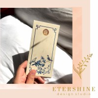 AMPLOP PERNIKAHAN / CUSTOM ANGPAO WEDDING SHUANG XI CHINOISERIE