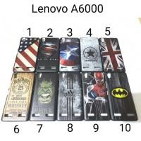 Hardcase Lenovo A6000 Back hard case Casing Hardcase Backcase Karakter
