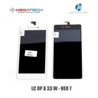 LCD TOUCHSCREEN OPPO A33W A 33 W NEO7 NEO 7 - BLACK ORIGINAL elektr
