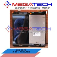 LCD OPPO A57 A 57 FULLSET BLACK ORIGINAL grab it fast