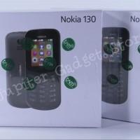 Nokia 130 2017 Dual SIM Handphone - Garansi Resmi aksesoris part
