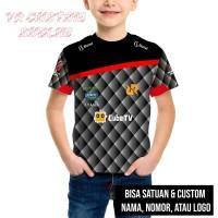 Kaos / Baju jersey Gaming Anak Tim RRQ Esport Game Free fire Pubg
