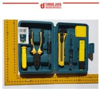 KENMASTER TM614 Tool kit Meteran Tang Obeng Isi Cutter SET lengkap