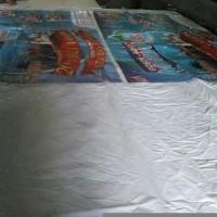 Spanduk banner baliho bekas