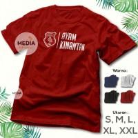 KAOS PSMS MEDAN AYAM KINANTAN - Baju Distro Supporter Bola Kampak