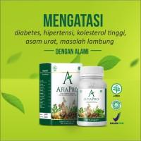 AFIAPRO herbal hipertensi diabetes kolesterol asam urat komplikasi
