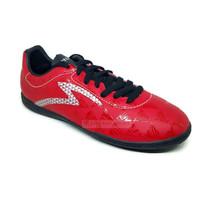 Sepatu Futsal SPECS QUARK IN Chestnut Red / Black / Silver ORIGINAL
