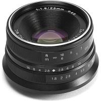 7artisans 25mm F1.8 Fixed Lens for Canon EOS M Kamera Mirrorless