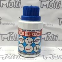 RED BLUEDOX 120 ml - Obat Ikan Anti Jamur, Parasit, Bakteri, Kuman, Lu