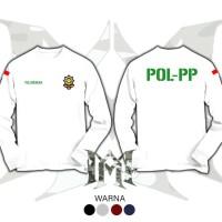 kaos baju POL-PP PRAJAWIBAWA //terbaru ready costume warna pilihan