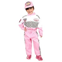 Baju Pembalap Anak Cewek 3-12 th | Seragam Cita-cita | Kostum Profesi