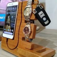 Wooden Phone Docking, Dudukan Handphone