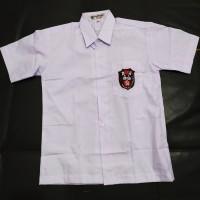 Baju Seragam SD Merk Mampank Lengan Pendek (Size 4-6)