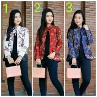 Baju batik wanita blouse bolero modern