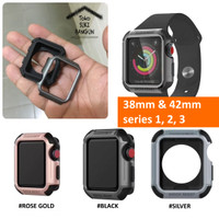 Bumper Case TOUGH ARMOR Solid Rubber for Apple Watch 38mm 42mm