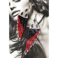 Anting Mote Etnik/beads earings/Bali/manik/boho/bohemian