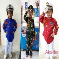 Baju Kostum Karnaval Profesi Akademi/akabri anak