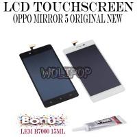BONUS LEM B7000 LCD TOUCHSCREEN OPPO MIRROR 5 A51 A51W ORIGINAL NEW