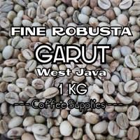 FINE ROBUSTA GARUT PETIK MERAH Green Bean Coffee biji kopi mentah jawa