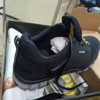 Sepatu Ringan Safety Jogger LIGERO S1P ESD Navy Extreme Light Biru