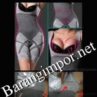 Natural Bamboo (Size L-XL)/ Korset/slim/Baju slim/Slimming/Korset Slim